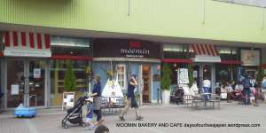 Moomin Themed Cafe in Tokyo Dome City