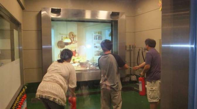 Disaster Training: An earthquake, a typhoon and a fire all in one day…| KOUNOSU