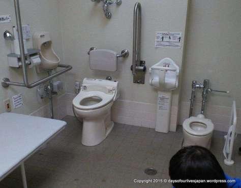 Kitamoto Childrens Park Family Toilet