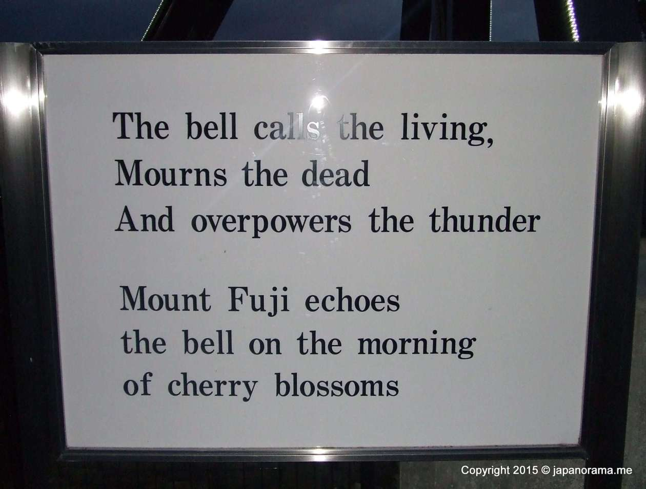 The Bell of Love's message at Toki no sumika