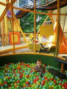 Ball pool in Musashi Dome of Shinrin Park