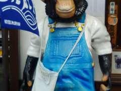Chimpanzee Kawagoe styrofoam art