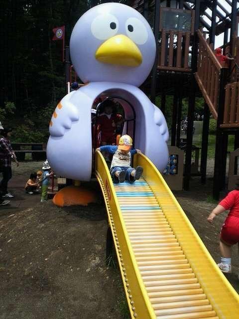 Kobaton Roller Slide at the Saitama Children's Zoo