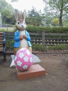 Peter Rabbit and Easter Egg