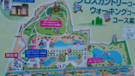 Facility Map of Hanasaki Park