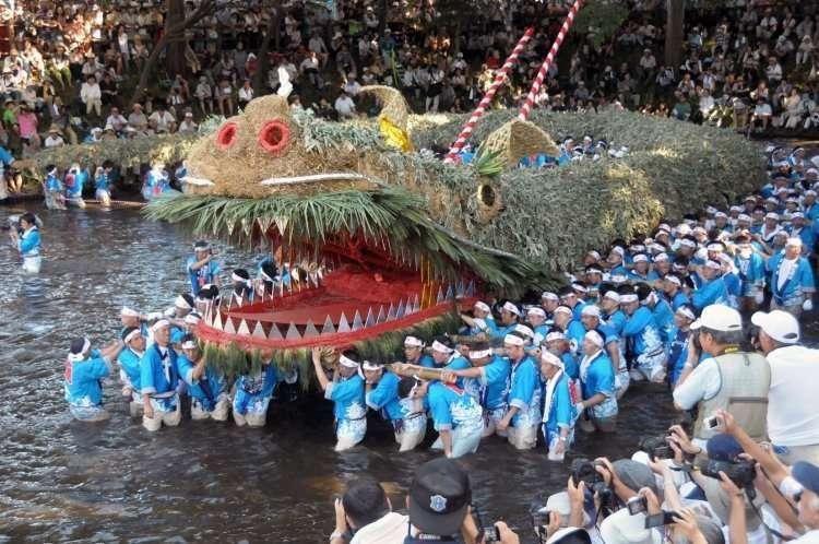 "Award Winning, Intangible Asset ""Suneori Amagoi"", Rain Praying Festival   TSURUGASHIMA"