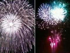 fireworks in saitama koshigaya fireworks ageo fireworks