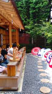 "Foot spa cafe and shop ""Tsubaki No Kura"" 
