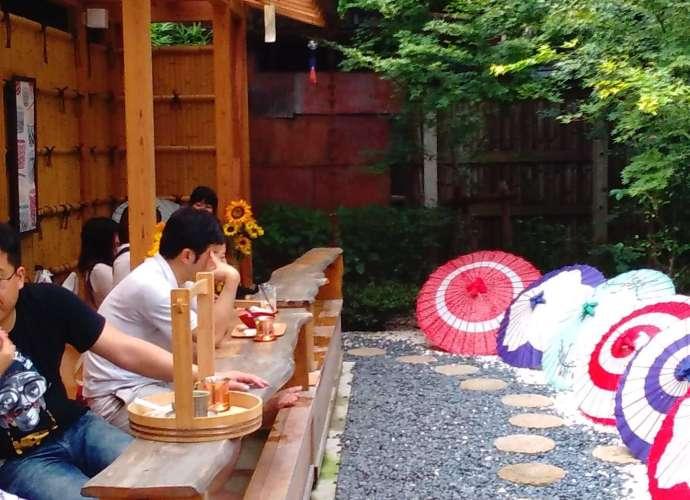 foot spa cafe tsubaki no kura in kawagoe