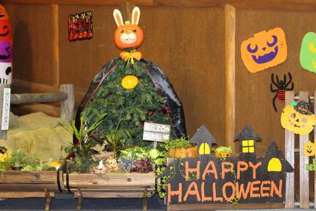Halloween decorations in the Children's Castle at Saitama Children's Zoo