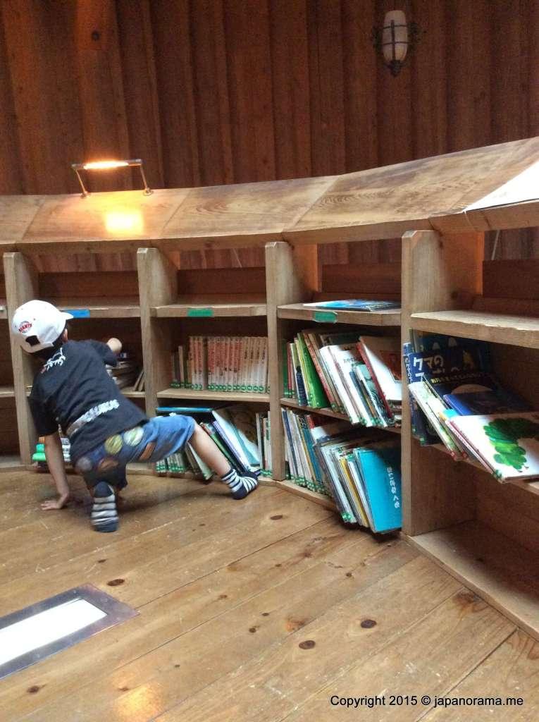 Moomin House reading area