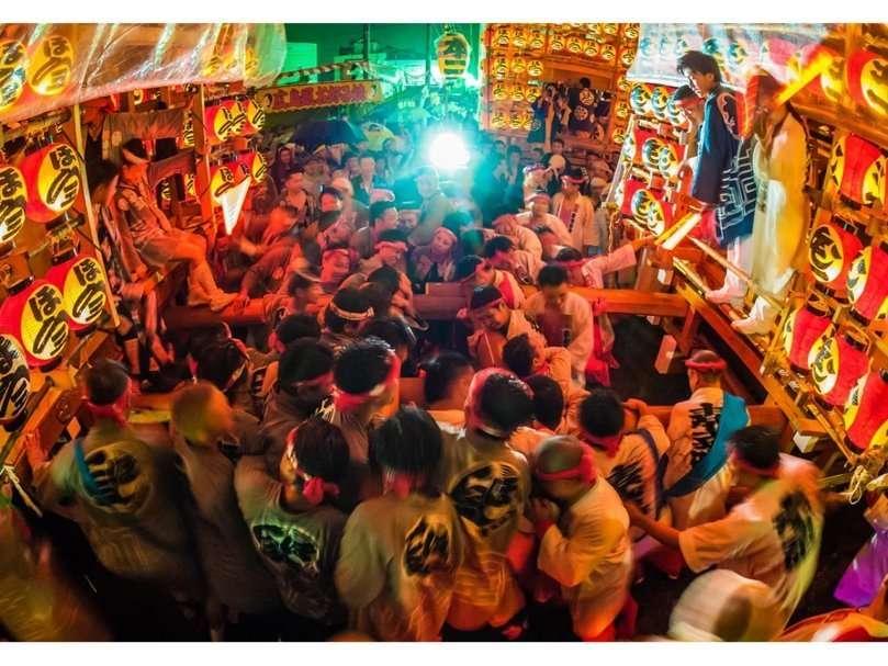 Kuki Lantern Festival Tenno Festival