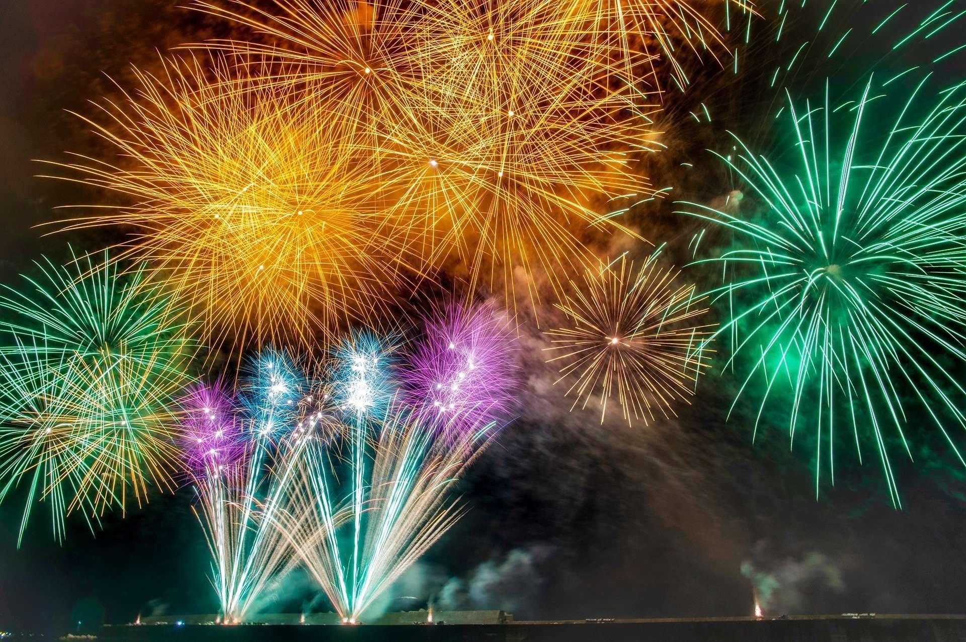 Generic fireworks photo for Kumagaya fireworks event information