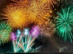 Generic fireworks photo for Kumagaya fireworks event information