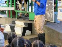 Butter making Milk fair saitama children's zoo