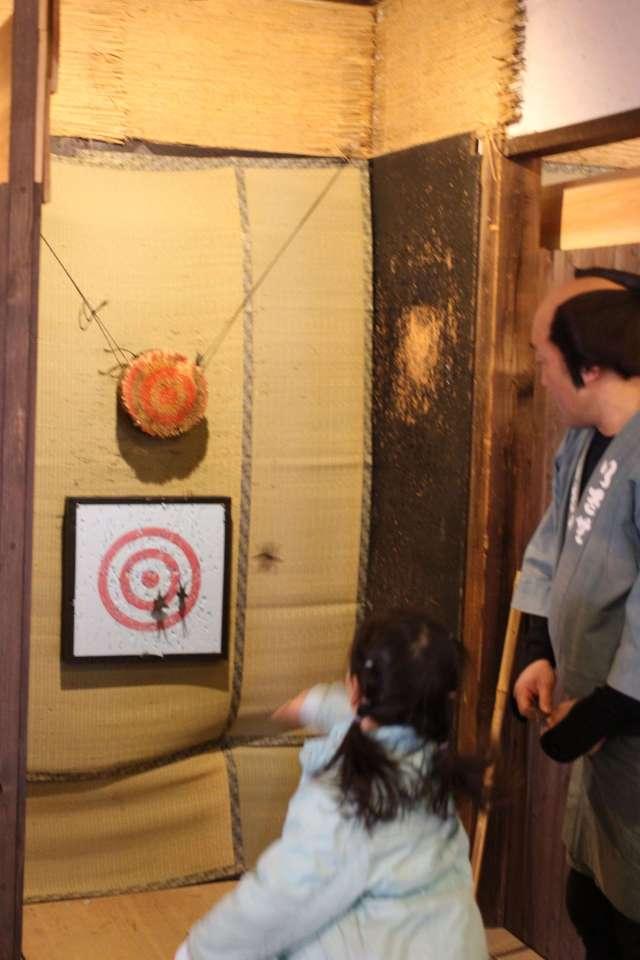 Ninja stars shuriken at Edo Wonderland