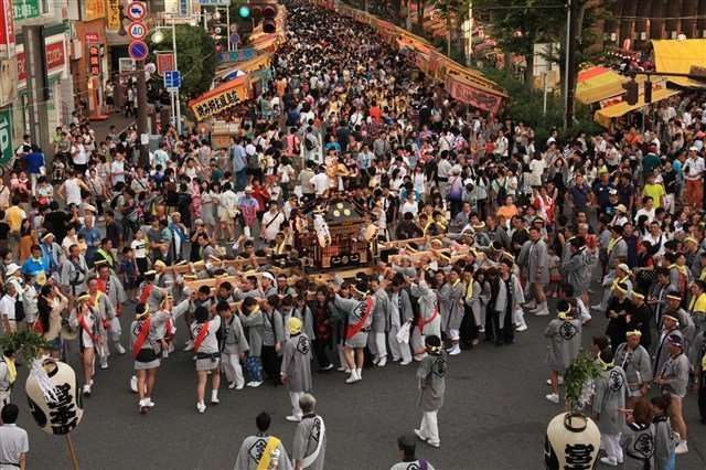 ageo summer festival from the official Ageo Tourism website