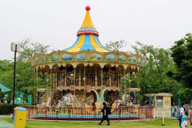 Carousel Merry Go Round at Musashi no Mura Kazo