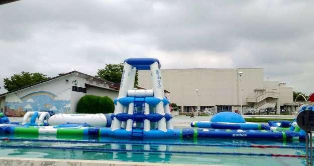 Sakado seasonal pool