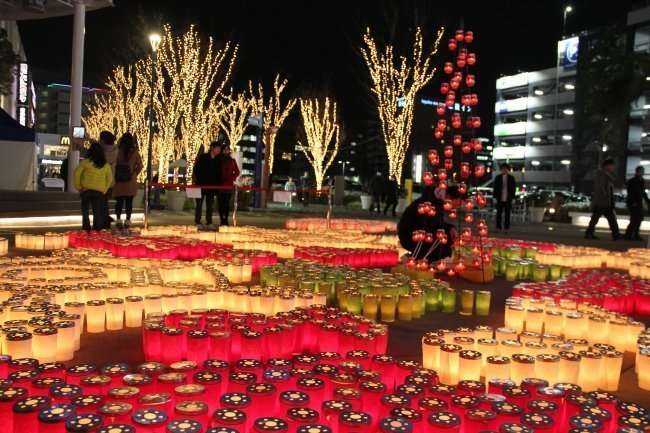 Candle Night Cocoon City