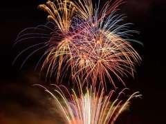 White Lantasia Fireworks