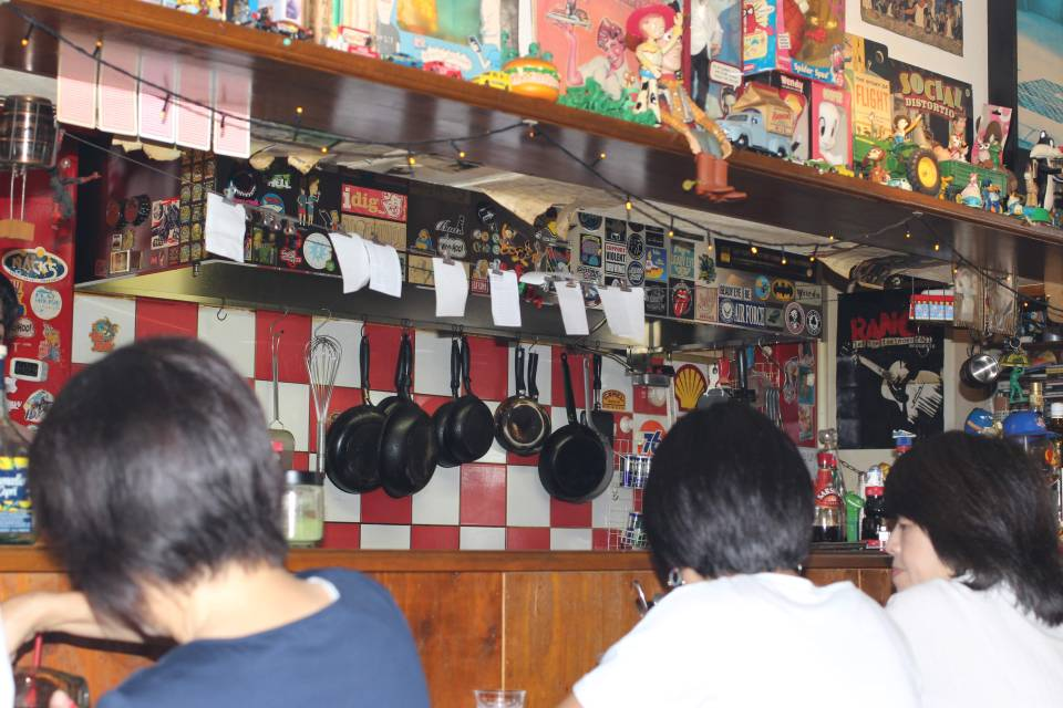 Inside Cafe Matilda Kawagoe