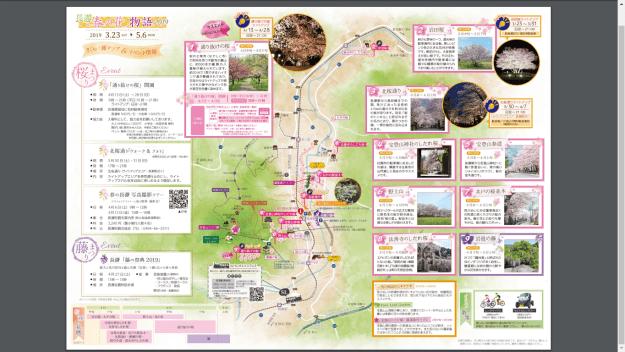 The cherry blossoms and wisteria of Nagatoro