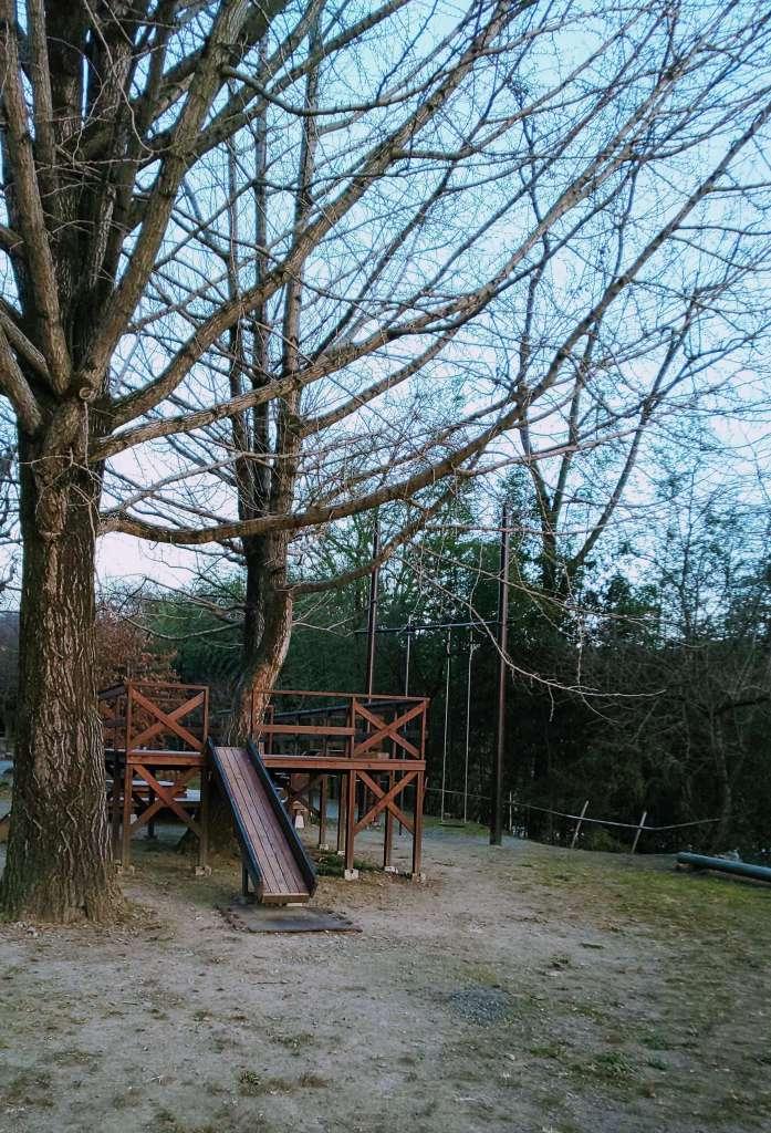 Playground at waterpark nagatoro