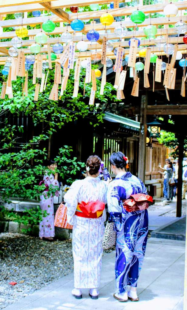 2019 wind chimes Kawagoe Hikawa Shrine insaitama.com