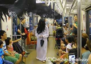 Ghost train chichibu railway
