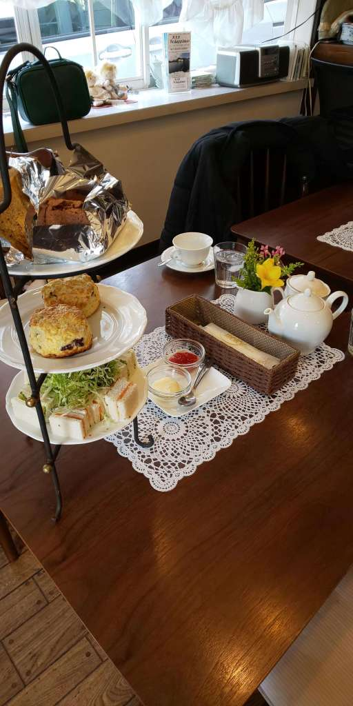 Afternoon Tea at Tea Berry | Kawagoe