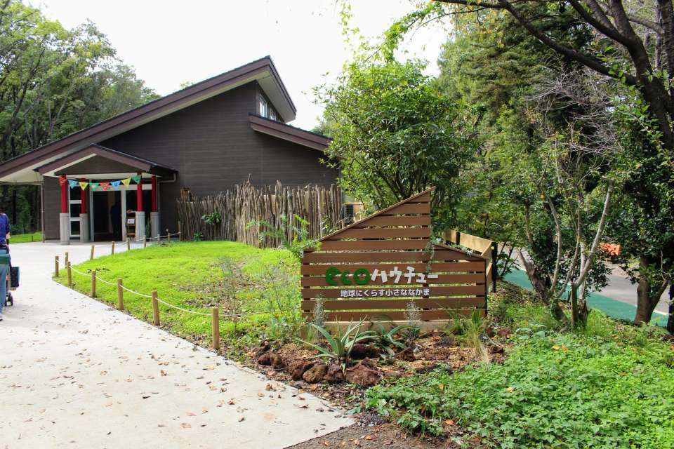 Eco Hauchu new at the zoo Saitama Children's ANimal Nature Park