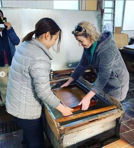 Washi workshop tokigawa