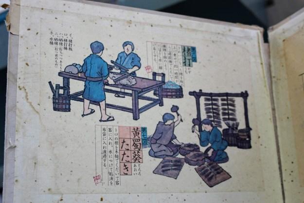 washi paper making process stage washi workshop