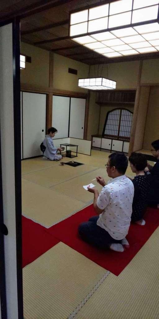 Green tea ceremony Saitama