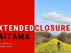 Extended closures Saitama due to Covid19
