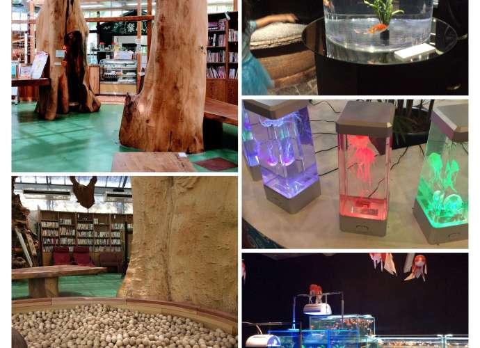 Suichurakuen Aquarium Tokinosumika Book cafe Yasai Shokodo
