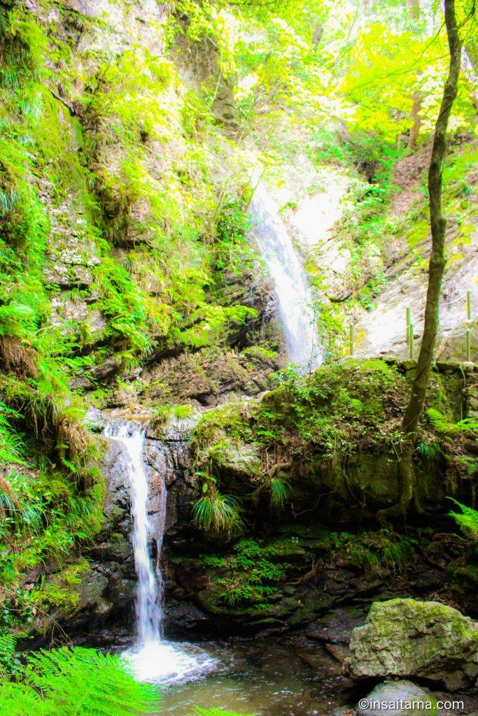 Kuroyama santaki medaki and odaki falls