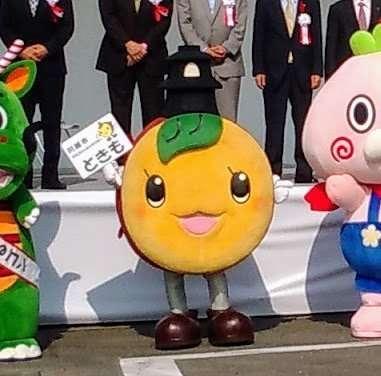 Tokimo the sweet potato bell tower mascot of Kawagoe