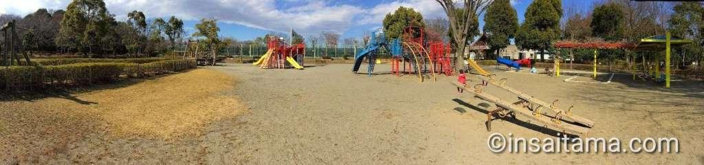 Main playground at Shiroyama Park