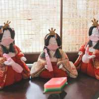 Hina Dolls at Kakyu no Sato in the Doll Town