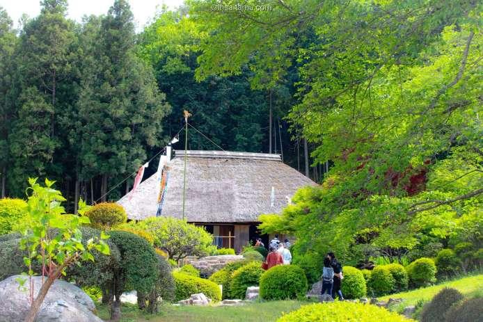 washi no sato paper making house