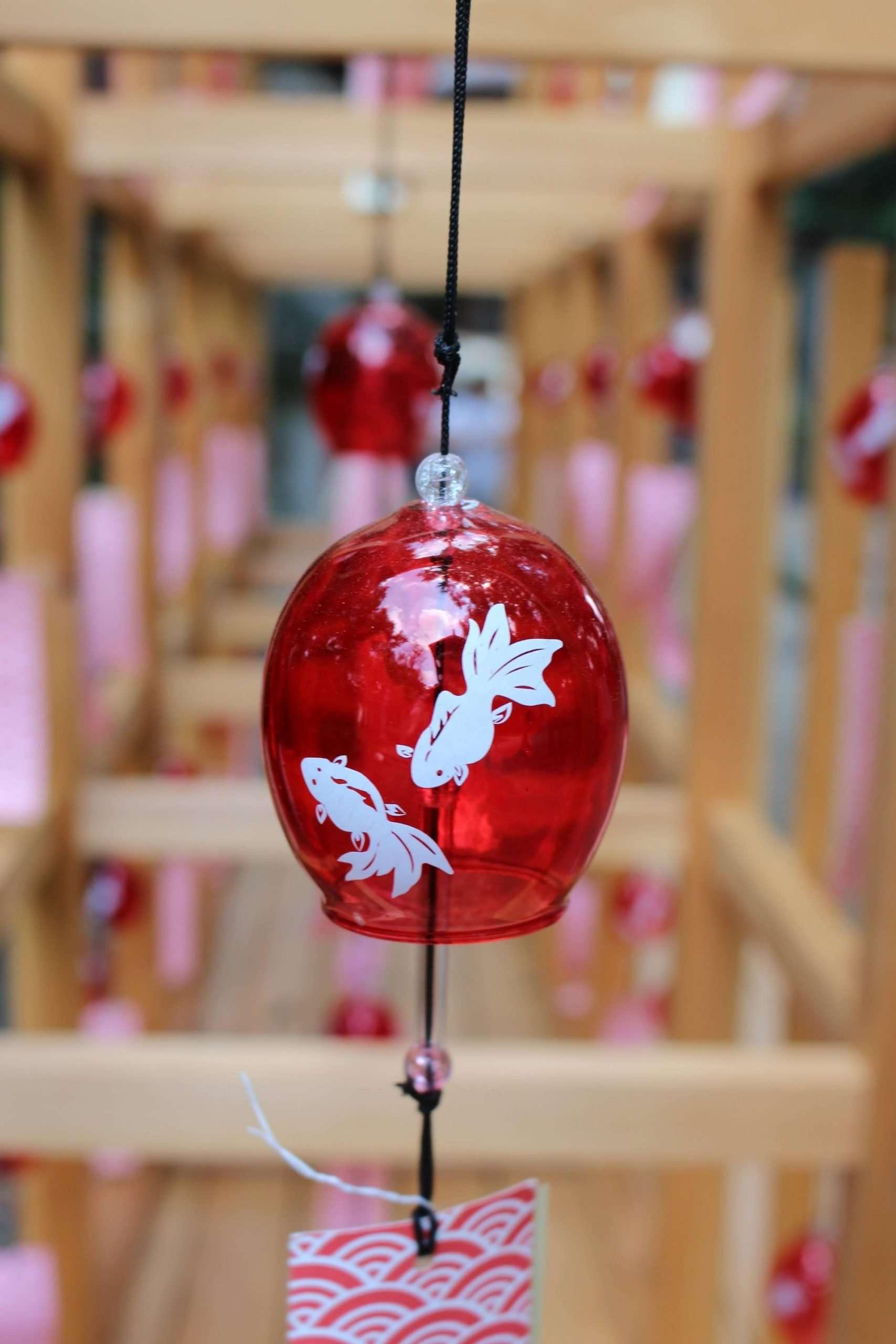 wind chime Hisaizu shrine
