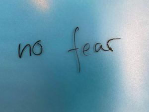 Do Not Allow Fear to Hold You Back