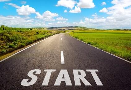 start-road