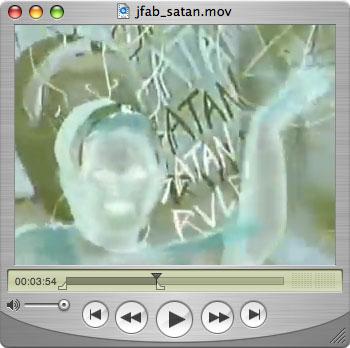 Julie Fabulous' Satan Satan Satan