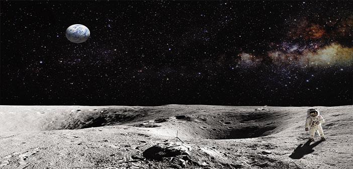 Aydaki Mucizevi İzler
