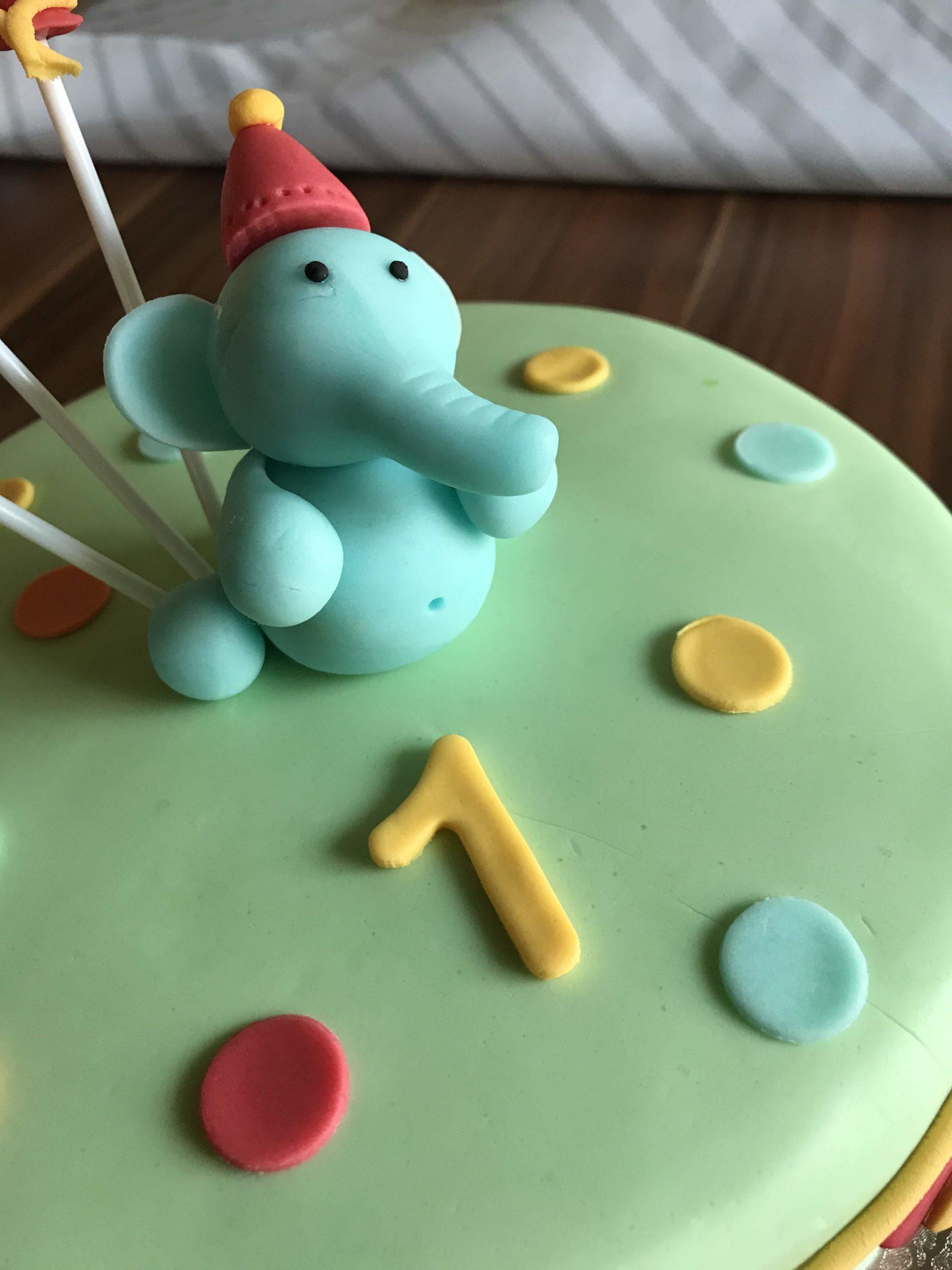 Zirkus Elefant Torte