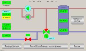 Автоматизация и диспетчеризация угольной котельной (п. Биофабрика)