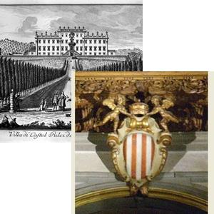 Castelpulci e stemma Ugo di Toscana